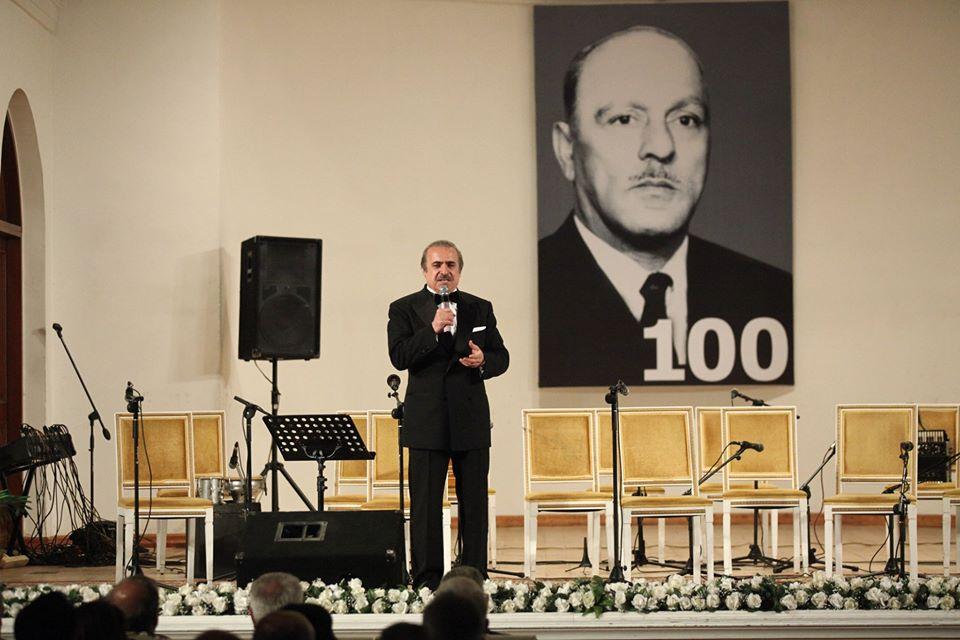 Göylərə yazılmış səs: Hacıbaba Hüseynovun 100 illik yubiley gecəsi