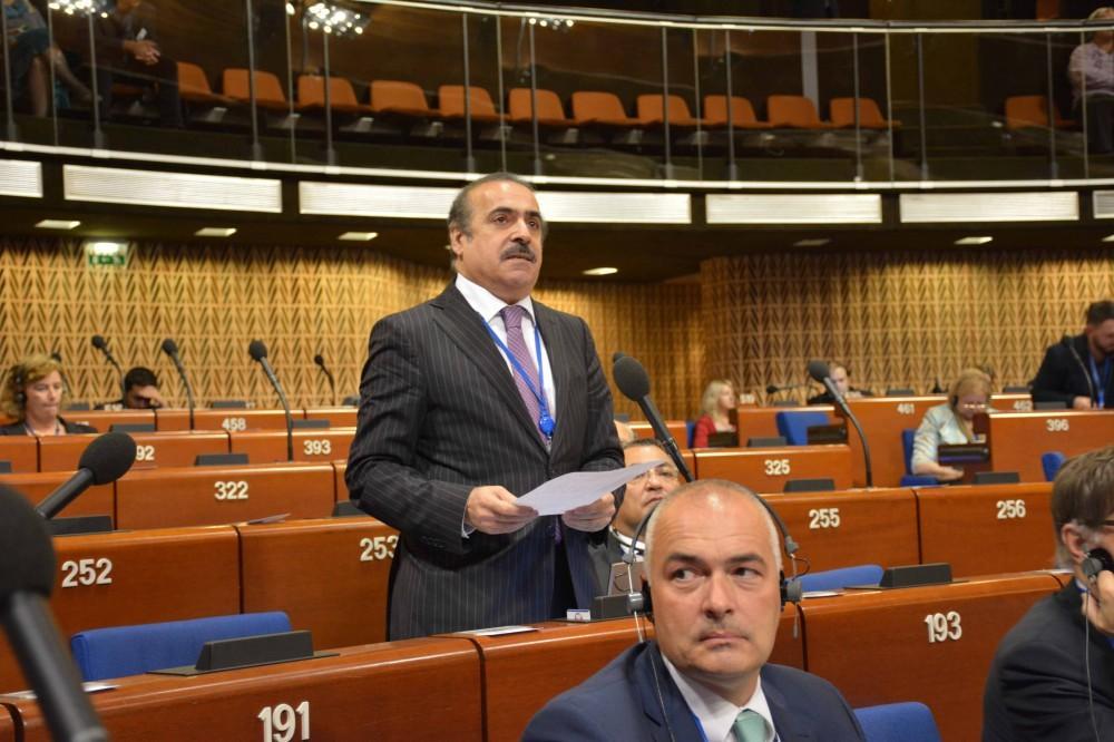 Rafael Hüseynov: Avropa Şurasındakı böhranların əsas səbəblərindən biri intizamsız və işğalçı Ermənistanın cəzasız qalmasıdır