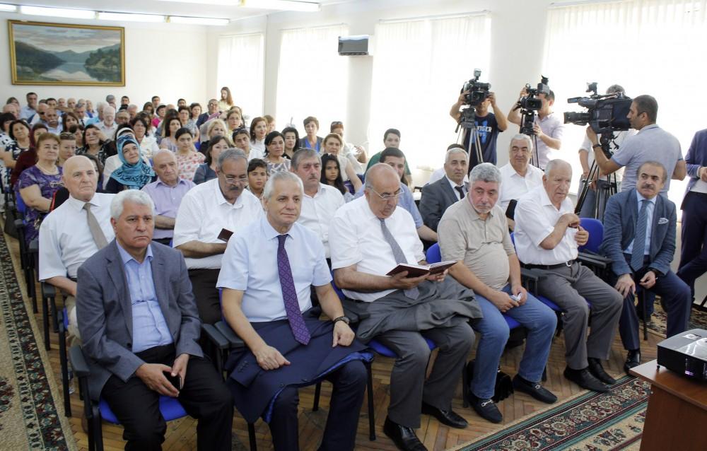 """Dördüncü """"Fizika və lirika"""" konfransı çərçivəsində """"Qoşa qanad"""" elmi-ədəbi gecəsi keçirilib"""
