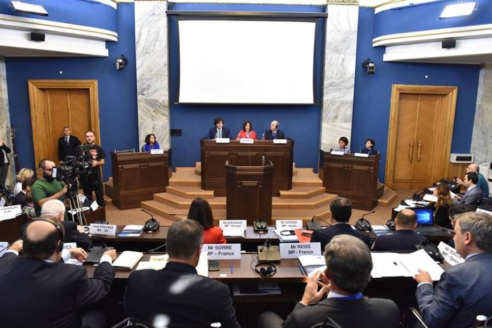 Milli Məclisin deputatı AŞPA-nın Tbilisidə keçirilən komitə iclasında iştirak edir