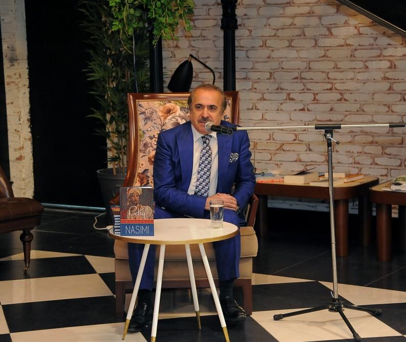 Akademik Rafael Hüseynov Nəsimi – şeir, incəsənət və mənəviyyat Festivalı çərçivəsində mühazirə oxuyub