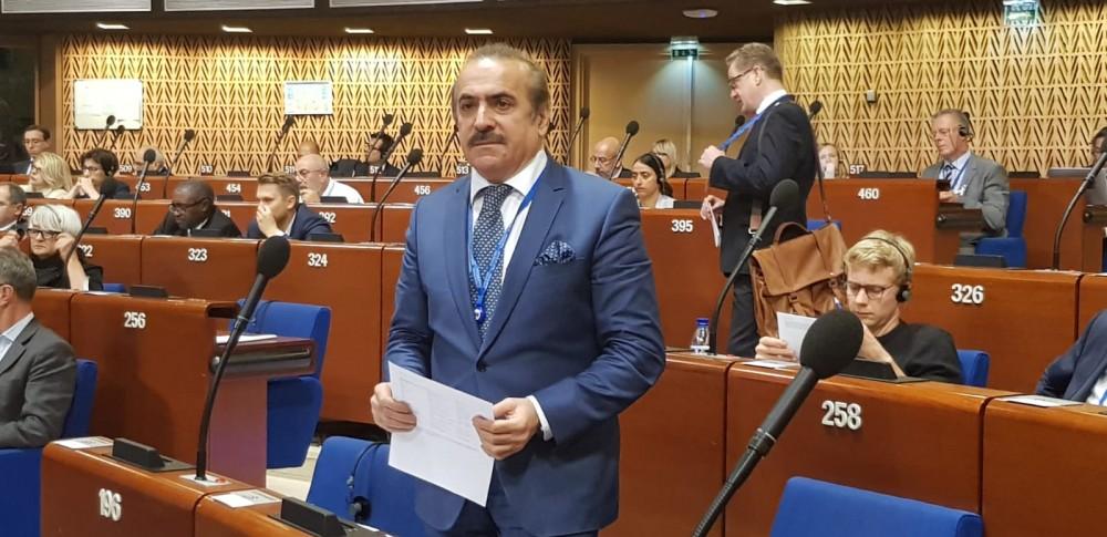 Azərbaycanlı deputat Avropa Şurası Nazirlər Komitəsinin sədrinə yazılı sualla müraciət edib