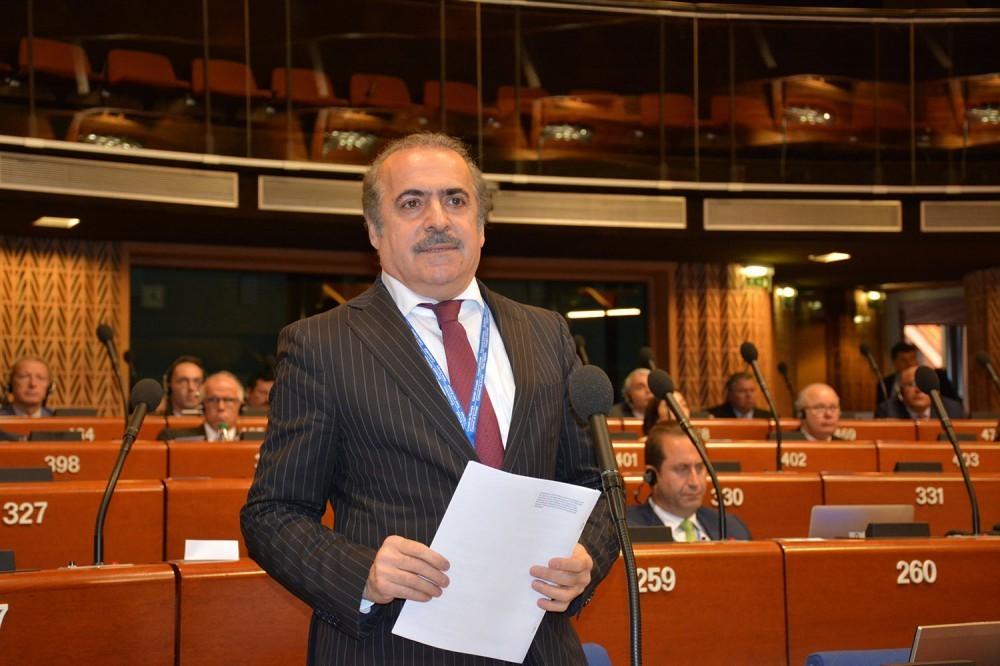 Milli Məclisin deputatı AŞPA-da azərbaycanlı girovların azad edilməsi məsələsini qaldırıb