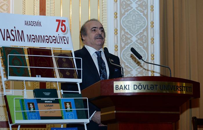 Akademik Vasim Məmmədəliyevin 75 illik yubileyinə həsr olunan elmi konfrans keçirilib