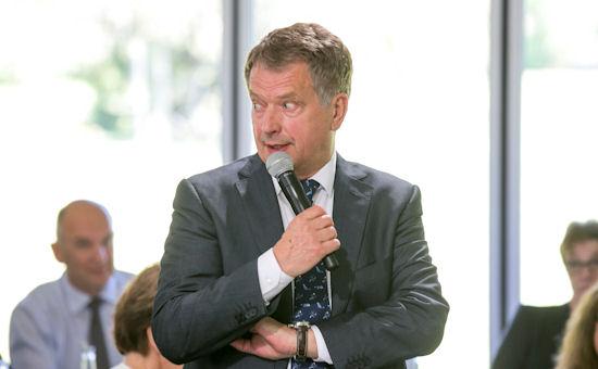 Prezident Sauli Niinistö: Dağlıq Qarabağ münaqişəsinin həllində müsbət addımlar atılacağına ümidlər çoxdur