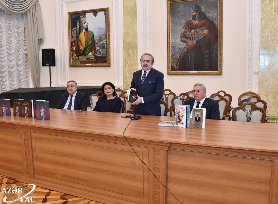 """Ədəbiyyat Muzeyində """"Nəsimi: edamdan sonrakı həyat"""" kitabının təqdimatı olub"""
