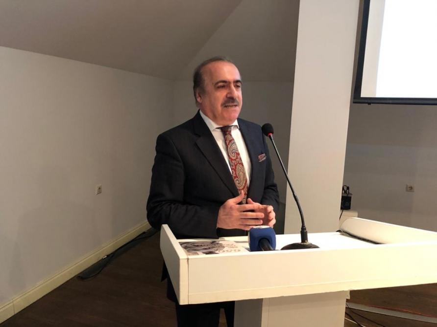 İmadəddin Nəsimin 650 illik yubileyinə həsr olunmuş elmi-praktik konfrans keçirilib