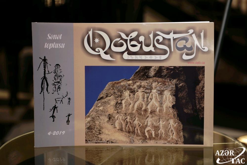 """""""Qobustan"""" jurnalının fəaliyyətə başlamasının 50 illiyi qeyd edilib"""