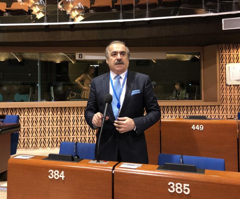 Rafael Hüseynov: Əsassız arqumentlərlə Ermənistanı müdafiə etməyə çalışanlar yaxşı olardı ki, dostlarını düz yola dəvət etsinlər