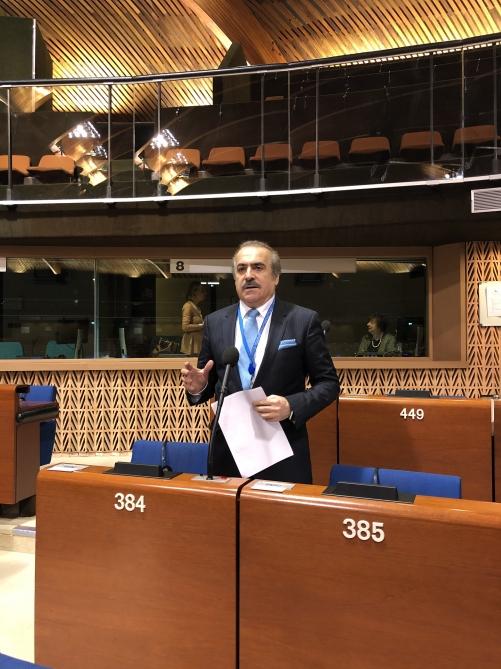 Azərbaycanlı deputat: AŞPA-da ikili standartlar, qeyri-obyektiv və sifarişli çıxışlar çoxalıb